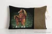 mare-and-colt-on-black-with-moss-green-faux-suede-1336180315-jpg
